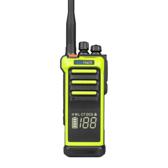 UHF 10W DMR and Analog Radio  with  Hidden Display ​